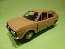 TOGI 132 ALFA ROMEO ALFASUD 5M - MUSTARD YELLOW 1:23 RARE - VERY GOOD CONDITION