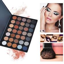 Fashion 35W 35 Color Warm Palette Eye Shadow Face Morphe Makeup Set new