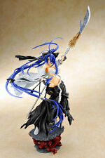 Aizu Project Ikkitousen Kanu Unchou Miko Ver. Black 1/6 Cold Cast Figure