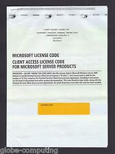 Microsoft Windows Terminal Server 2008 5 CAL User RDS Remote Desktop Services