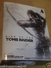 RISE OF THE TOMB RAIDER LARA CROFT PLAY ARTS KAI ACTION FIGURE - NEW & SEALED