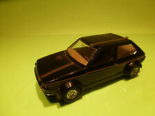 BBURAGO 0168 FIAT RITMO ABARTH - GOLD BLACK 1:24 - RARE SELTEN - GOOD CONDITION