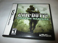 Call of Duty 4 Modern Warfare (Nintendo DS) Lite DSi XL 3DS 2DS w/Case No Manual