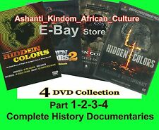 Hidden Colors Series : Volumes 1, 2, 3, 4 Collection KING FLEX - NEW Release