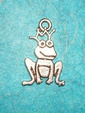 Pendant Frog Charm Prince Charming Charm Animal Royalty King Charm Toad Wedding