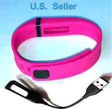 1 Small PINK for  Fitbit FLEX Bracelet Band With Clasp (NO TRACKER)  + 1 CHARGER