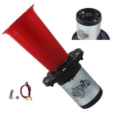 RED AHOOGA ANTIQUE VINTAGE STYLE 12 VOLT OLD FASHION CAR HORN HOT ROD KLAXON