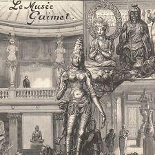 Le Musée Guimet inauguré le 20 novembre place d'Iéna Paris - Gravure presse 1889