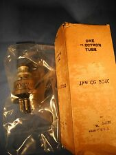 NOS GE Jan CG 2C40 Triode Amplifier / Oscillator Tube New Old Stock Military