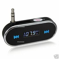 Trasmettitore FM Wireless Bluetooth Lettore mp3 Auto Kit Caricabatterie Per iPhone 6 5s 5c