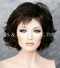 Classy and chic Everyday wig messy look Multiple layers Black Auburn Mix 1B-30