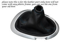 BLUE STITCHING FITS NISSAN JUKE 2010-2013+ LEATHER GEAR GAITER ONLY