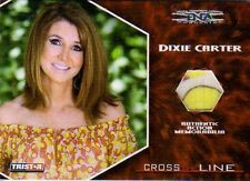 DIXIE CARTER 2008 Cross The Line TNA 4 color EVENT WORN TOP #34/99