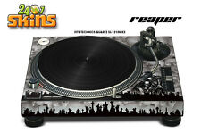 Skin Decal Sticker Wrap for Technics Quartz SL Turntable Pro Audio Mixer REAPR S