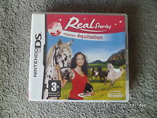 JEU NINTENDO DS  3DS : REAL STORIES MISSION EQUITATION    J73