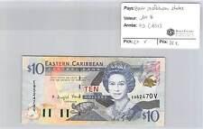 BILLET EAST CARIBBEAN STATES - 10 DOLLARS (1933)