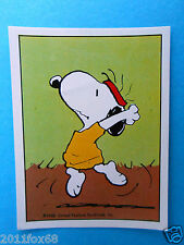 figuritas figurines figuren snoopy figurine i love snoopy n. 195 panini 1980-90