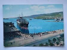 TRIESTE Saturnia Vulcania lloyd emigranti nave ship vecchia cartolina