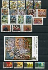 VATICAN 1990 MNH COMPLETE YEAR 22 Stamps & SHEET