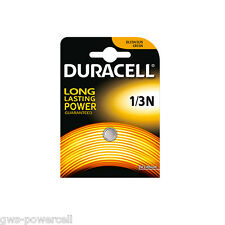 3 x Duracell Batterie CR1/3N Lithium 160 mAh 3,0V L 76  DL1/3N CR11108 Blister
