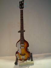 Miniature Guitar (24cm Tall) : PAUL McCARTNEY HOFNER BASS