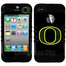 NCAA Oregon Ducks Impact Hybrid Protector Hard Case Cover for Apple iPhone 5 5S
