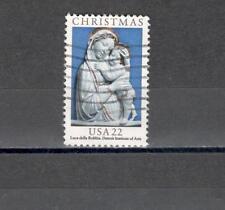 USA 1610  -NATALE, DELLA ROBBIA   1985 - MAZZETTA DI  40 - VEDI FOTO