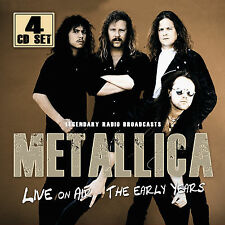 METALLICA New Sealed 2017 LIVE 1980s & 1990s CONCERTS 4 CD BOXSET