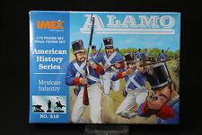 YU082 IMEX 1/72 maquette figurine 510 American History Series Mexican Infantry