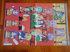 P079.Lucky Star / Kimikiss 2-sided poster anime manga Japan collectibles