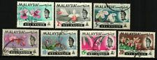 Malaysia 1965 Orchids Series - Selangor ~ Fine Used