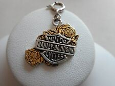 2004 Authentic Harley Davidson Sterling Silver GF Charm or Pendant RE50