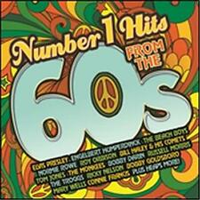 NUMBER 1 HITS FROM THE 60s VARIOUS ARTISTS 2 CD NEW