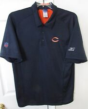 NFL Chicago Bears Golf Polo Shirt Large by Reebok EUC