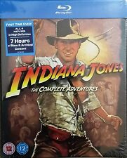 Indiana Jones The Complete Adventures Blu-ray Region Free New!