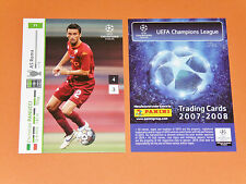 PANUCCI AS ROMA GIALLOROSSI FOOTBALL CARDS PANINI CHAMPIONS LEAGUE 2007-2008