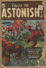 Tales to Astonish #29 - When the Space Beasts Attacks! - 1962 (Grade 2.0)  WH