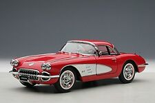 AutoArt 71148 1:18 Chevrolet Corvette 1958 Signet Red