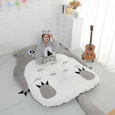 90*70'' Cute Huge Giant Totoro Bed Carpet Tatami Mattress Sofa Filled Great Gift