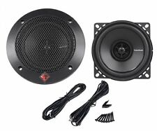 "Pair Rockford Fosgate R14X2 4"" Inch 120 Watt 4-Ohm 2-Way Car Stereo Speakers"