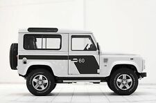 LAND ROVER DEFENDER 90  Aftermarket 60th anniversary DECAL Sticker SET