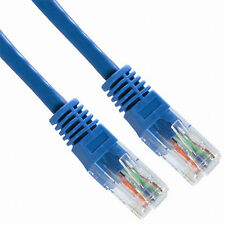 5 Pack Lot - 7ft CAT6 Ethernet Network LAN Patch Cable Cord 550 MHz RJ45 Blue