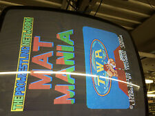Mat Mania Memetron Taito 1985 Non-Jamma PCB Board GUARANTEED WORKING #2682