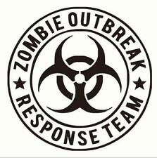 ZOMBIE OUTBREAK RESPONSE TEAM Sticker Decal Car Vinyl Car Sticker