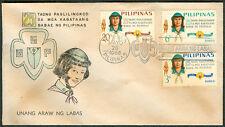 1966 25 Taong Paglilingkod Sa Mga Kabataang Babae Ng Pilipinas FDC - D