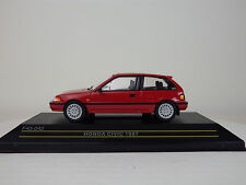 HONDA 4th CIVIC (EF) 1987  Red  1:43 FIRST:43 MODELS / KB NEW