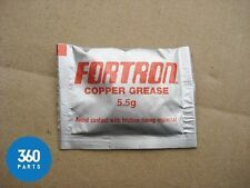 5 NEW FORTRON COPPER GREASE SACHET PACKET 5.5G FOR USE WITH  LAND ROVER PARTS 5G