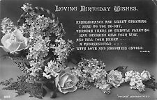 BR72048 loving birthday wishes flower    uk