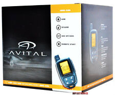 Avital 5305L 2-Way Car Security Alarm RemoteStart System Replace Avital 5303 NEW
