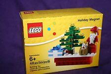 NEW LEGO Holiday Magnet Santa
